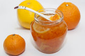 Homemade jam from citrus — Stock Photo