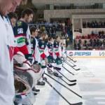 Players Slovan (Bratislava) — Stock Photo #40093345