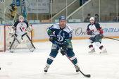 Forward Leonid Komarov (Dynamo 87) — Foto de Stock