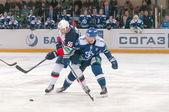 Hockey match — Stock Photo