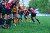 Rugby potřeb — Stock fotografie