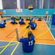 Sitting volleyball — Stock Photo #47156027