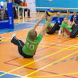 Sitting volleyball — Stock Photo