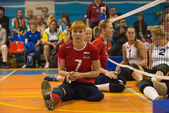 Vergadering volleybal — Stockfoto