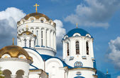 Dome of the Cathedral Church of the Saints in Moscow Bibirevo — Stock Photo