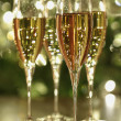 Stock Photo: Champagne sparkle
