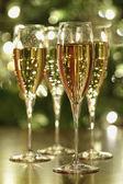 Champagne sparkle — Stock Photo