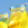 Cool lemonade on a hot summer day — Stock Photo #3277992