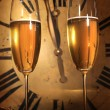 Champagne ready to bring in the New Year — Stock Photo #3278258