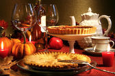 Thanksgiving desserts — Stock Photo