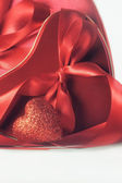 Hearts and ribbons for Valentine's Day — Stock Photo