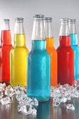 прохладным летом напитки со льдом — Стоковое фото