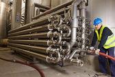 Pipeline craftsman — Foto de Stock