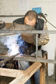 Forging iron — Stock Photo