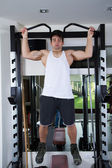 Athlete in the gym — Stock Photo