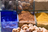 Spices at the local market — Stock Photo