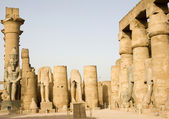 Ancient ruins of Luxor — Stock Photo