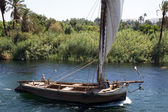Ship on the river Nile — Stock Photo