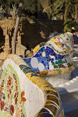 Colorful mosaic building — Stockfoto