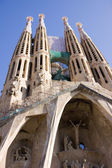 Piece of La Sagrada Familia — 图库照片