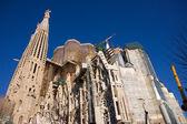 Cathedral La Sagrada Familia — Stock Photo