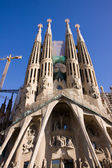 Cathedral La Sagrada Familia — Stock Photo
