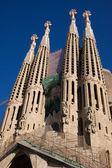 La cattedrale sagrada familia — Foto Stock