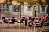 Cafe terrace — Stockfoto
