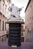 Sculpture near Museum of Salvador Dali — Stock Photo