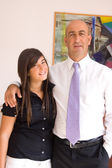 Father with daughter — Stock Photo