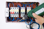 Electrician — Stock Photo