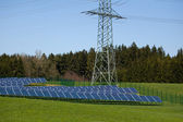 Solar power in Germany — Stock Photo