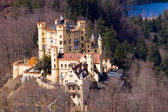Hohenschwangau castle — Stock Photo