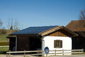 Bavarian photovoltaic — Stock Photo
