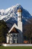 Iglesia de schwangau — Foto de Stock