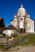 Wieskirche sanctuary — Stock Photo