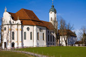 Wieskirche sanctuary — Stockfoto
