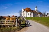 Wieskirche sanctuaire — Photo