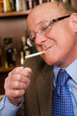Smoker — Stock Photo