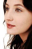 Closeup shot of girl. — Stock Photo