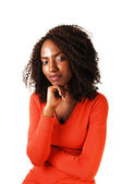 Portrait of black girl. — Stock Photo