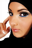 Teen girl with headscarf. — Stock Photo