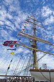 Tall ship. — Stock Photo