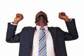 Happy black man. — Stock Photo