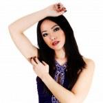 Pretty Chinese girl. — Zdjęcie stockowe