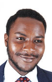 Portrait of black man. — Stock Photo