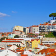 Lisbon panorama — Stock Photo