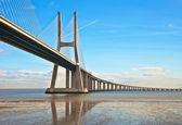 Bridge in Lisbon — Stock Photo