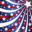 图库矢量图片: Independence Day 4th of July themed background