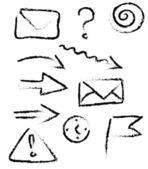 Doodle elements — Stock Vector